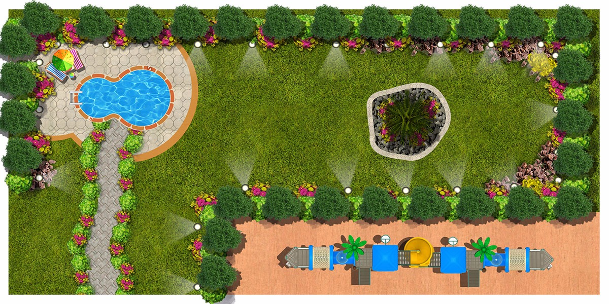 مصمم-3d-اعمال-لاند سكيب-landscape