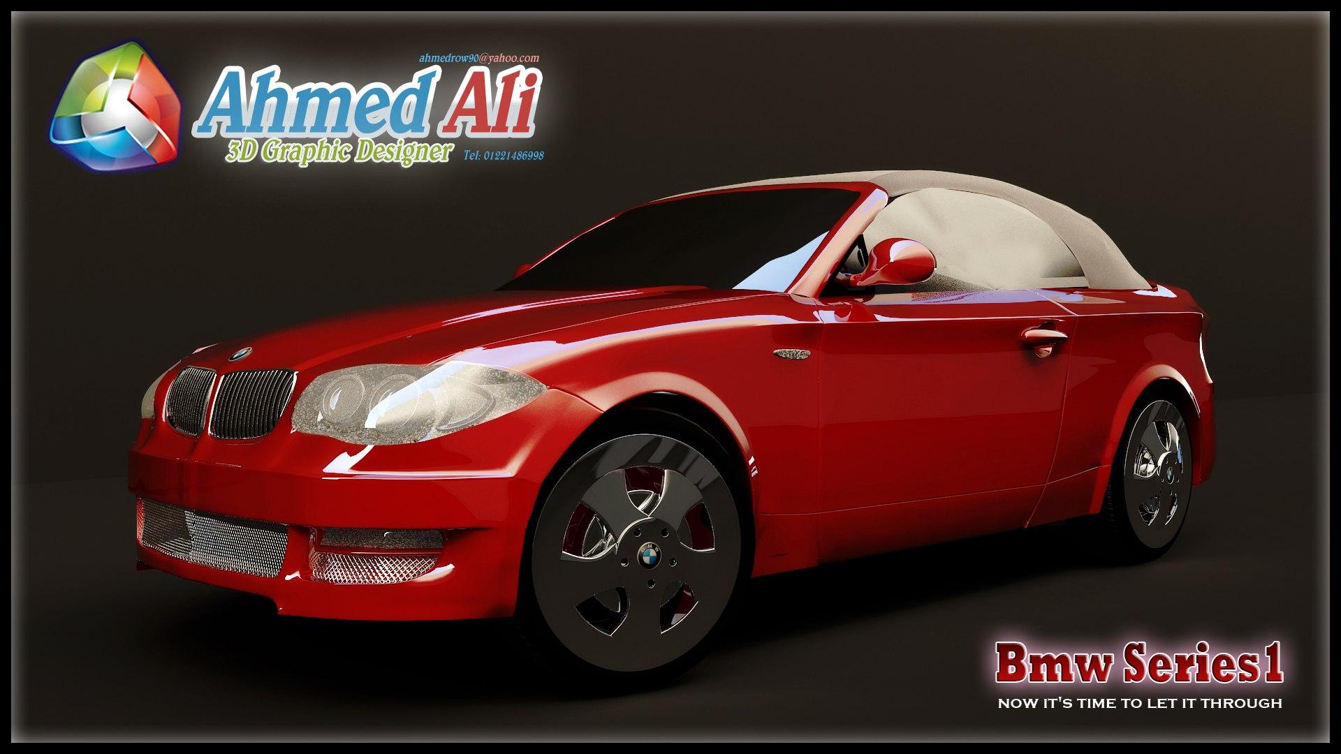 تصميم ثلاثى الأبعاد لسيارة
