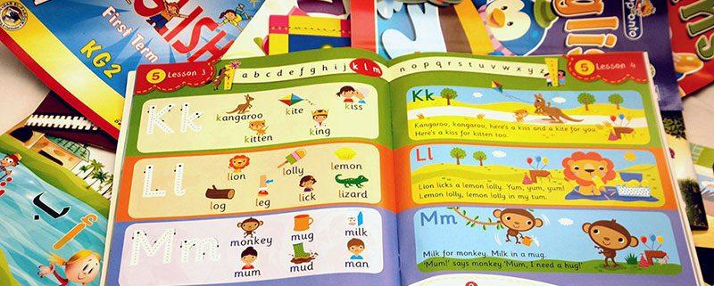 بيع كتب مدارس اللغات