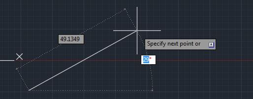 تعليم الاوتوكاد - الرسم بطريقة dynamic input