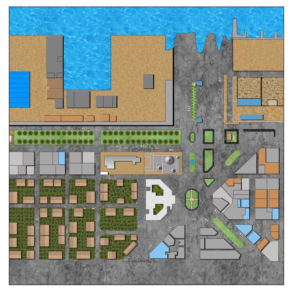 2D Plan-Port-Fouad