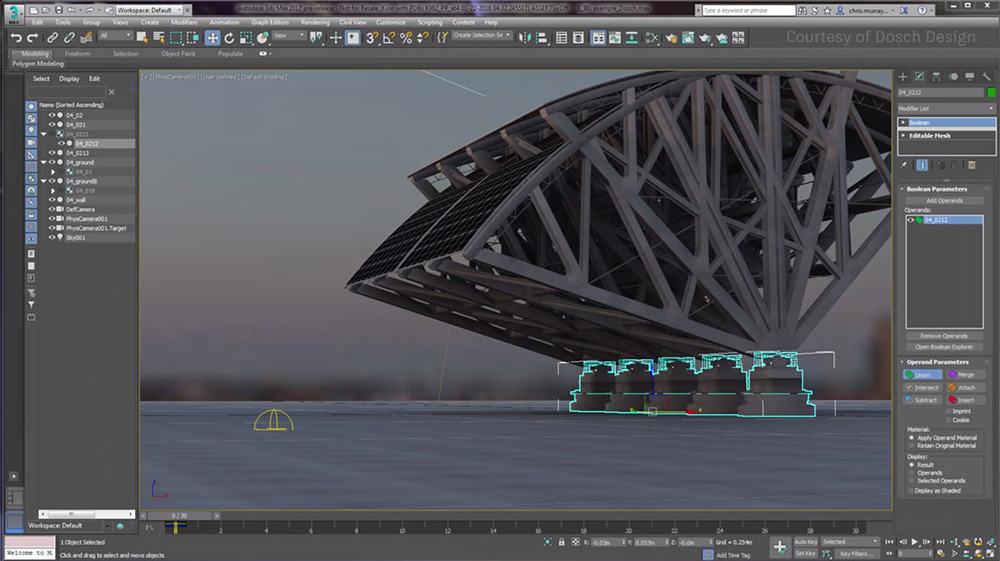 برامج التصميم الهندسية - 3ds-max-interface