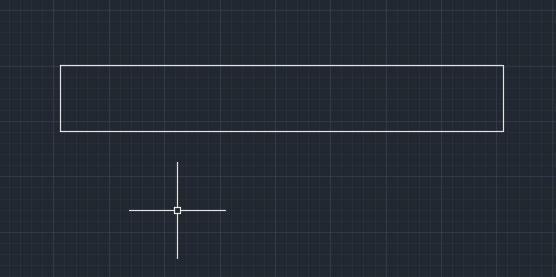 تعليم الاوتوكاد - شكل المربع بعد ادخال قيمة المساحة والقيمة الطولية الخاصة به.