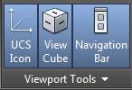 تعليم الاوتوكاد - قسم ViewPorts tools