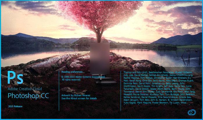 Adobe-Photoshop - برنامج تصميم شعارات وتعديل على الصور