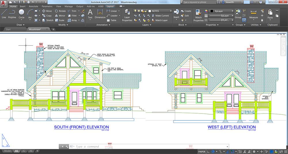 برامج التصميم الهندسية - autocad-interface