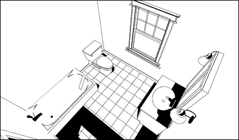 مقاسات وحدات الحمام