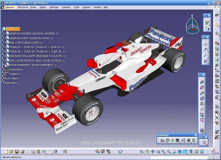 برامج التصميم الهندسية - catia-interface