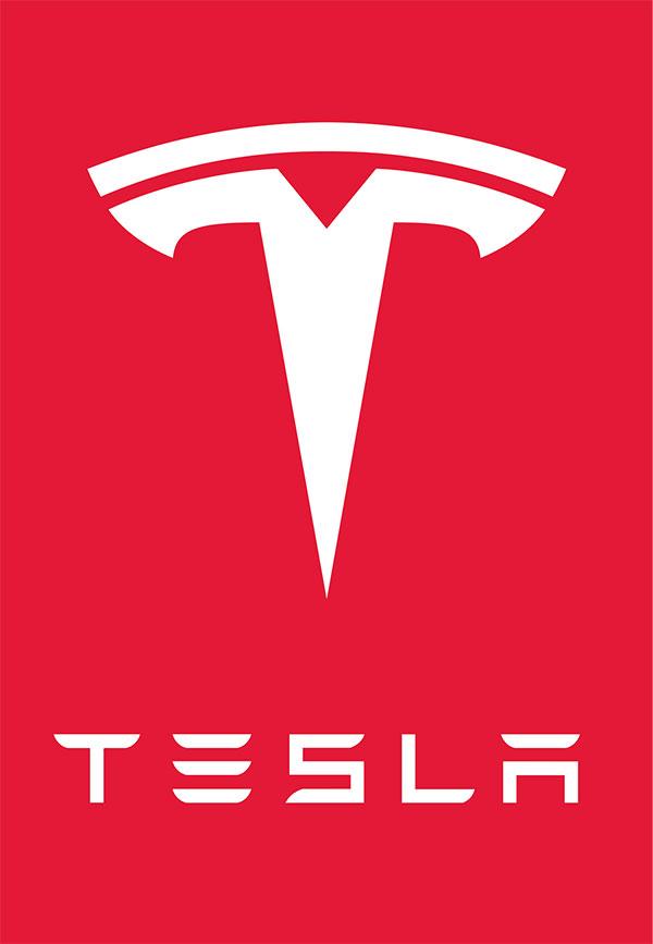 شعارات السيارات - TESLA