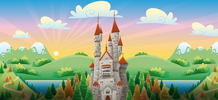 Cartoon_Landscape-vector