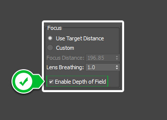 Enable-depth-of-field