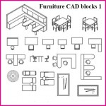 Furniture CAD blocks