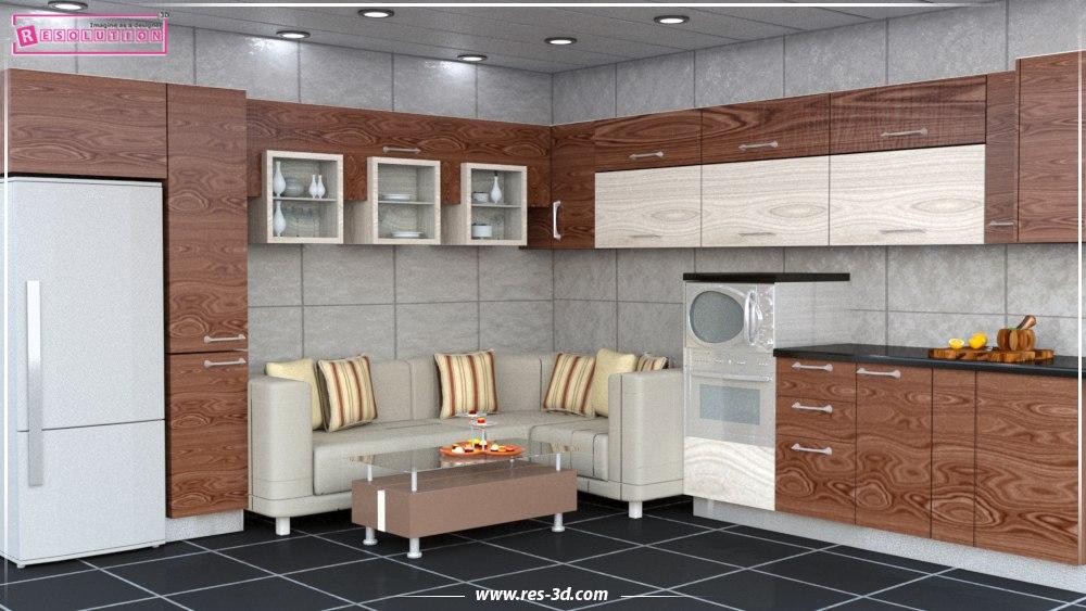 Kitchen Design-تصميم مطبخ 1