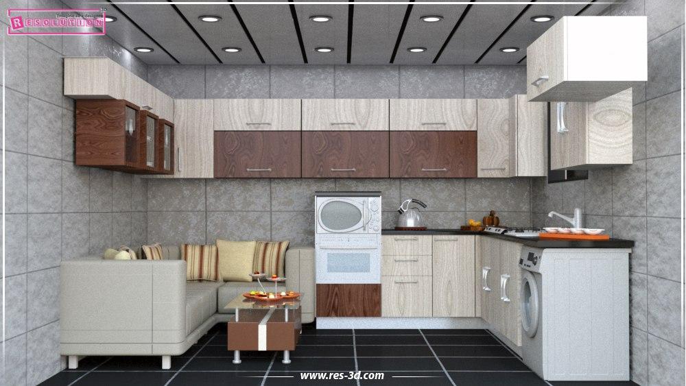 Kitchen Design-تصميم مطبخ 3