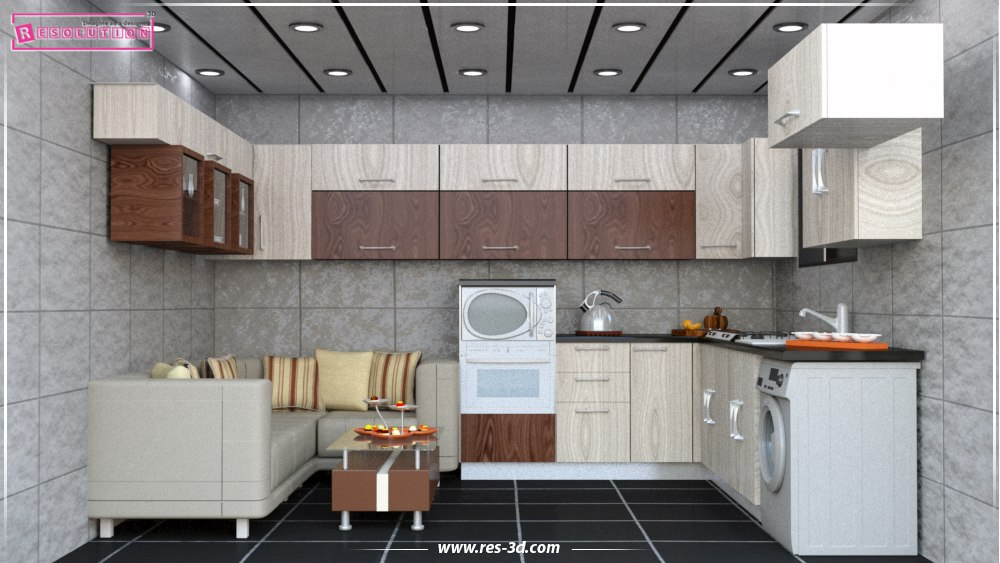 3d for Kitchen design 8 8