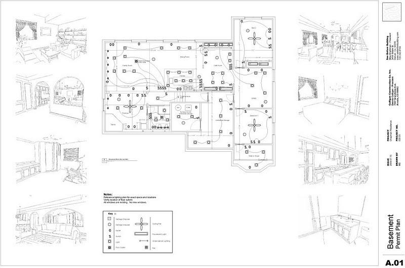 اخراج عمل معمارى كامل من خلال برنامج Sketchup
