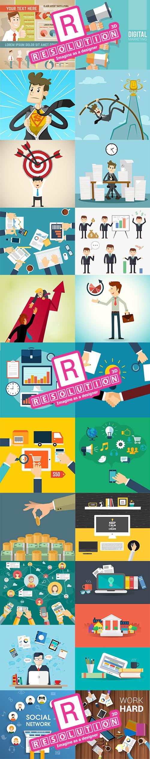 25 فيكتور لإستخدامه فى ( التسويق، العمل الحر و إعلانات مصصمي الجرافيك )