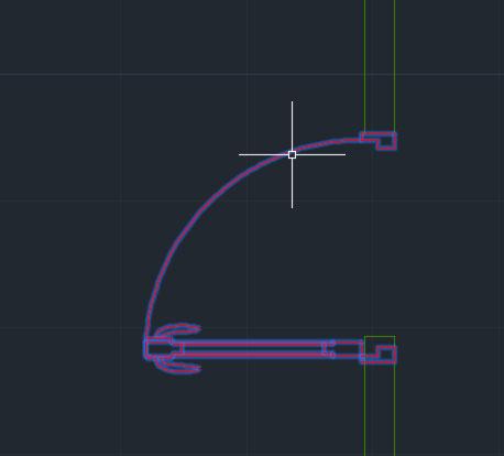 1. تحديد شكل الباب