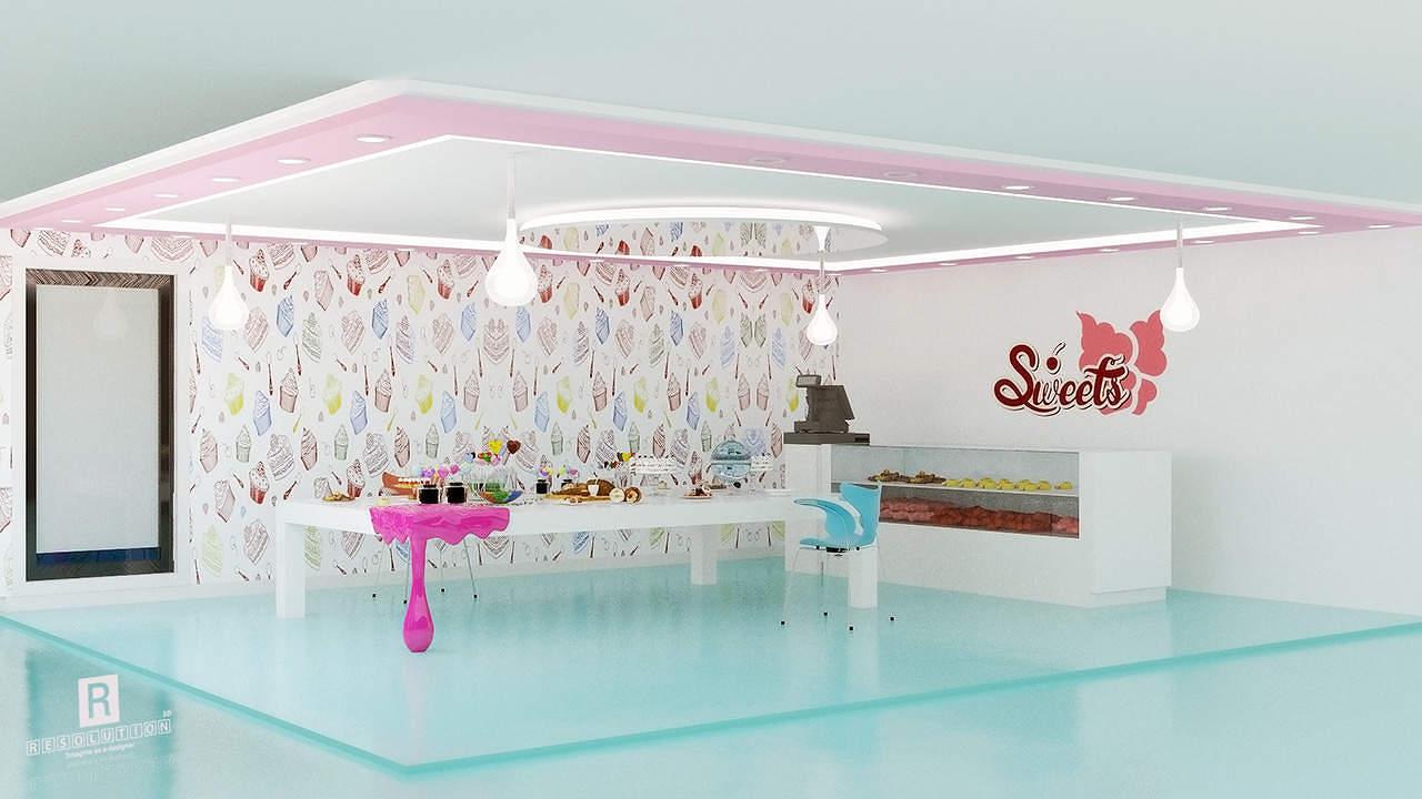 candy-shop-design-تصميم-محل-حلويات